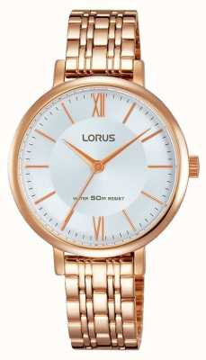 Lorus Womans Dame Rose Gold RG286LX9