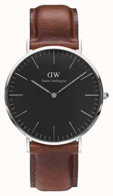 Daniel Wellington Unisex Classic St Mawes 40mm Black DW00100130