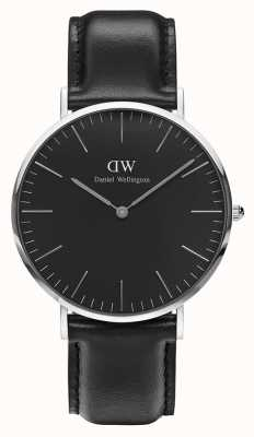 Daniel Wellington Unisex Classic Sheffield 40mm Black DW00100133
