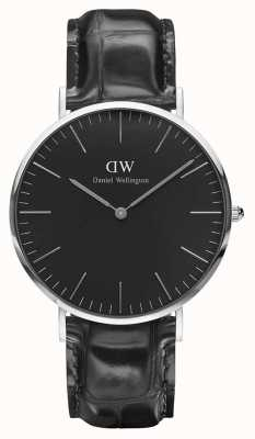 Daniel Wellington Unisex Classic Reading 40mm Black DW00100135