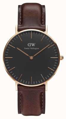 Daniel Wellington Unisex Classic Bristol 36mm Black DW00100137