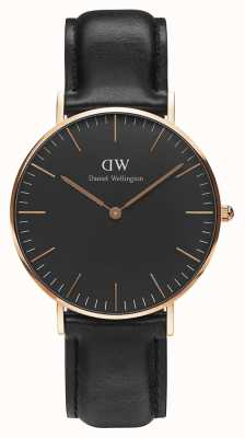 Daniel Wellington Unisex Classic Sheffield 36mm Black DW00100139