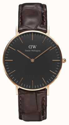 Daniel Wellington Unisex Classic York 36mm Black DW00100140