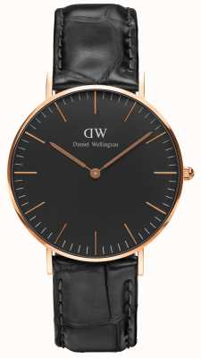 Daniel Wellington Unisex Classic Reading 36mm Black DW00100141