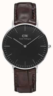 Daniel Wellington Unisex Classic York 36mm Black DW00100146