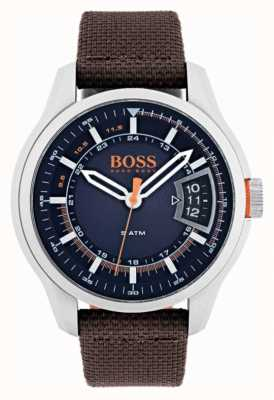 Hugo Boss Orange Mens Hong Kong Brown Strap 1550002