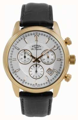 Rotary Mens Monaco White Chronograph GS90129/06