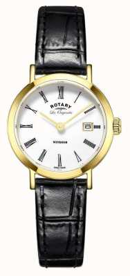 Rotary Womans Windsor Gold Plated LB90156/03