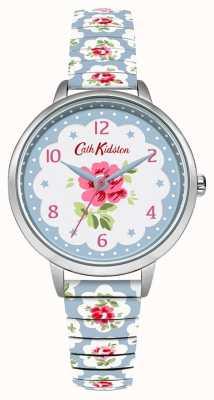 Cath Kidston Womans Pale Blue Floral Expander CKL030WU