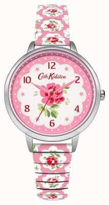 Cath Kidston Womans Pale Pink Floral Expander CKL030WP