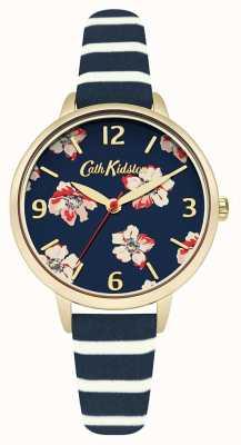 Cath Kidston Womans Navy Floral Stripe CKL032UG
