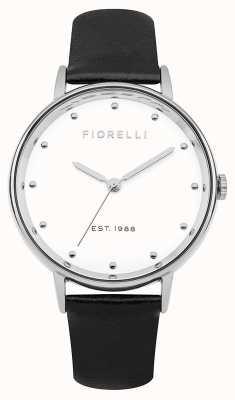 Fiorelli Womans Black Bracelet Watch Gift Set FO032BSG