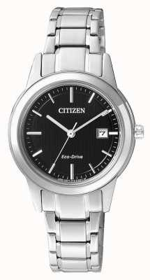 Citizen Ladies Citizen Silhouette Eco-Drive Stainless Steel Watch FE1081-59E