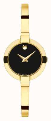 Movado Women's Bela 25 Yellow Gold PVD bracelet 0606999
