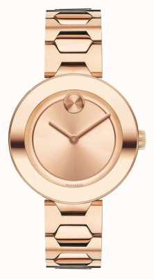 Movado bold Midsize Rose Gold Ion-plated K1 Crystal 3600387