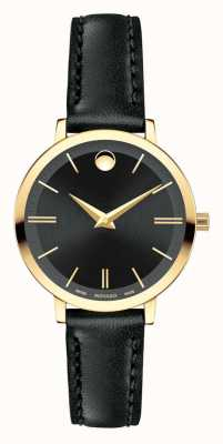 Movado Women's Ultra Slim Yellow Gold PVD-finished 0607095