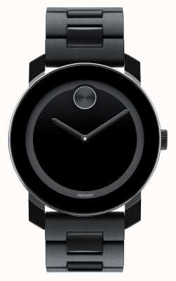 Movado bold Large Black TR90 Composite minimalistic watch 3600047