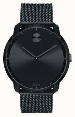 Movado bold    Large Black Ion-plated K1 Crystal 3600261
