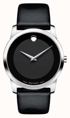 Movado Men's Museum Classic Stainless Steel Black museum Dial 0606502