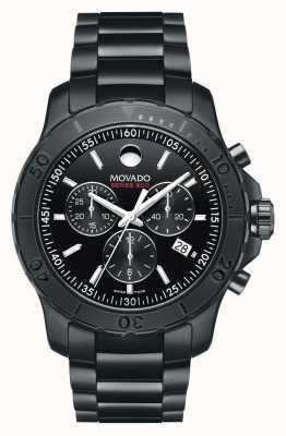 Movado Men's Series 800 Chronograph Performance Steel™  Black 2600119