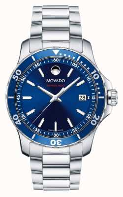 Movado Men's Series 800 Watch  Performance Steel Aluminum Sports 2600137