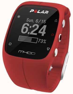 Polar Polar Unisex M400 Bluetooth GPS (Red With HR) Activity 90061177