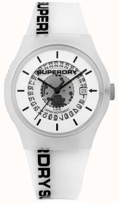 Superdry Mens Urban Semi Opaque White SYG168W