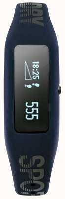Superdry Unisex Fitness Tracker Navy Silicone Strap SYG202UB