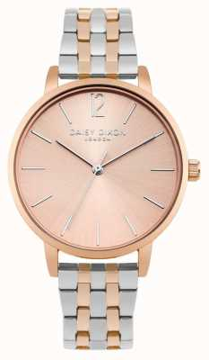 Daisy Dixon Womans Imogen Two Tone Silver Rose Gold DD044RSM