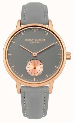 Daisy Dixon Womans Sadie Grey Strap Grey Dial DD048E