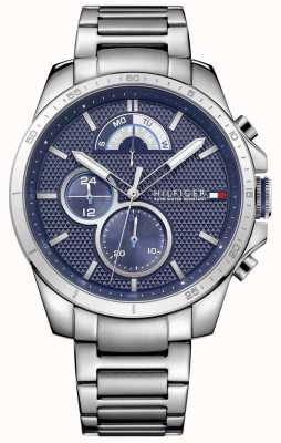 Tommy Hilfiger Men's Stainless Steel Blue Chrono 1791348