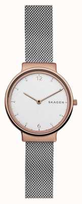Skagen Womans Ancher Steel Mesh Rose Gold SKW2616