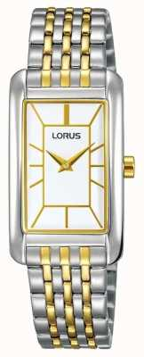 Lorus Womans Two Tone Metal Bracelet RRW07FX9