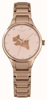 Radley Womans On The Run Rose Gold Metal RY4244
