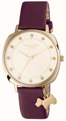 Radley Womans Kennington Purple Leather RY2496
