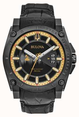 Bulova Special Edition Grammy Precisionist Black Leather 98B293