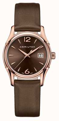 Hamilton Womans Jazzmaster 34mm Brown H32341975