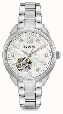 Bulova Women's Automatic Diamond Watch 96P181