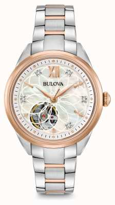 Bulova Women's Automatic Diamond Watch 98P170