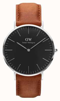 Daniel Wellington Unisex Classic Black Durham 40mm DW00100132