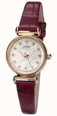 Limit Women's Mother of Pearl Stone Set Dial Watch 60043.01