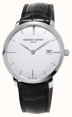 Frederique Constant Mens Slimline Automatic Black Leather Strap FC-306S4S6