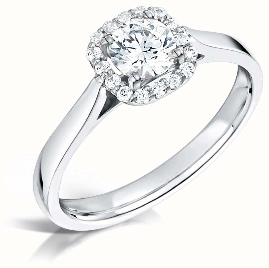 Certified Diamond Engagement Rings FCD28344