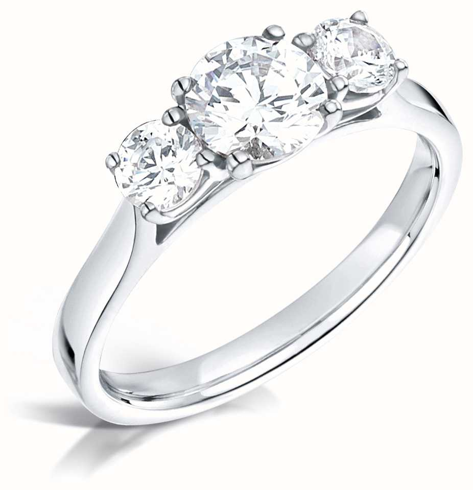 Certified Diamond Engagement Rings FCD28342