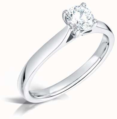 Certified Diamond 0.40ct D SI1 GIA Diamond Engagement Ring FCD28375