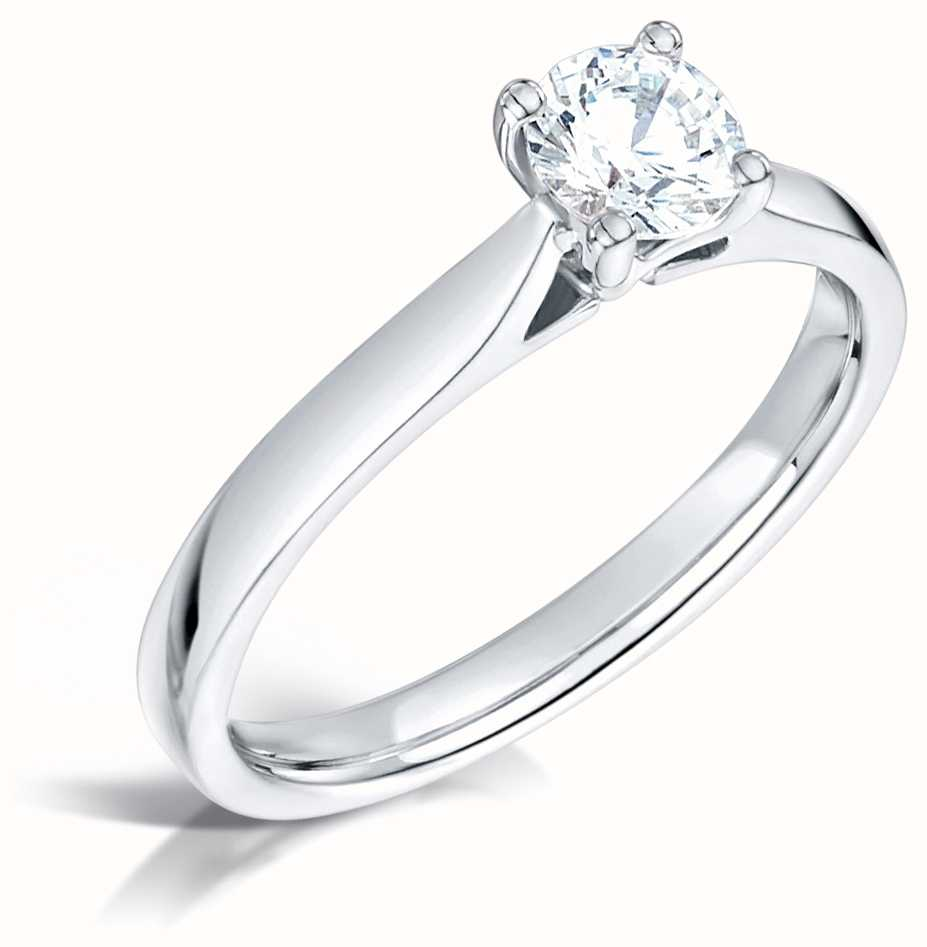 Certified Diamond Engagement Rings FCD28392