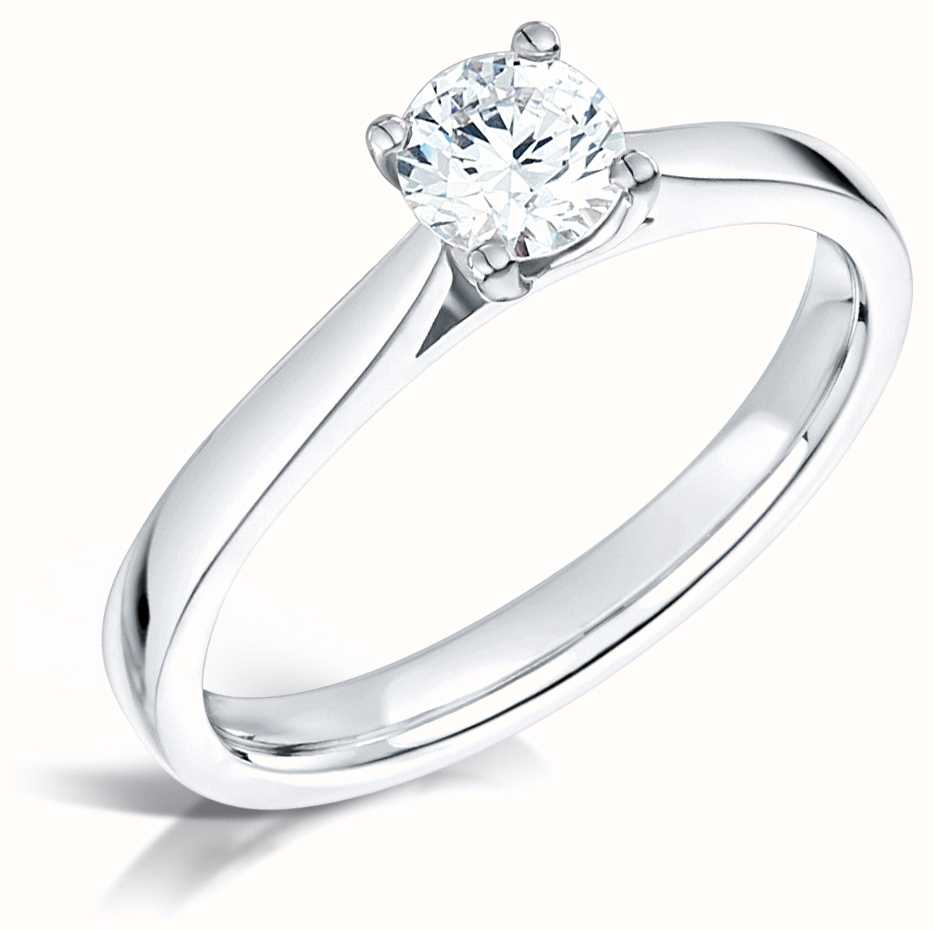 Certified Diamond Engagement Rings FCD28380