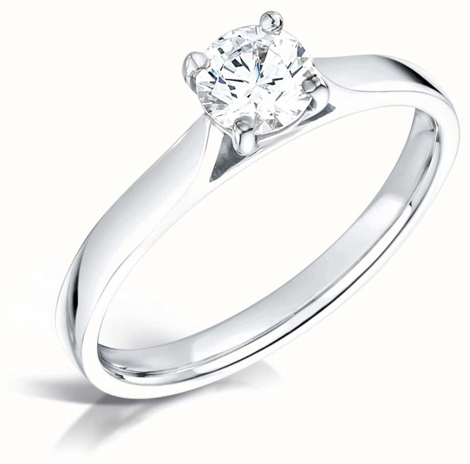 Certified Diamond Engagement Rings FCD28378