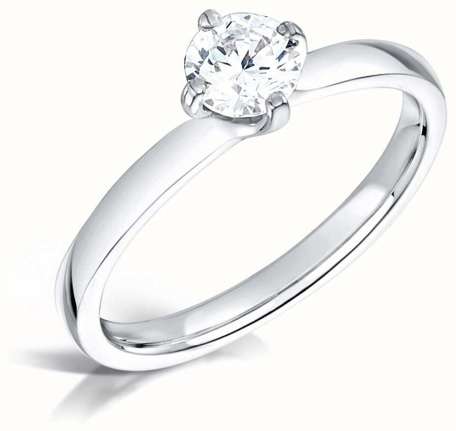 Certified Diamond Engagement Rings FCD28178