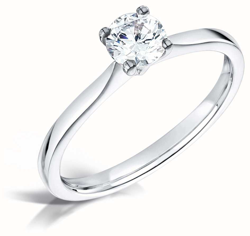 Certified Diamond Engagement Rings FCD28345